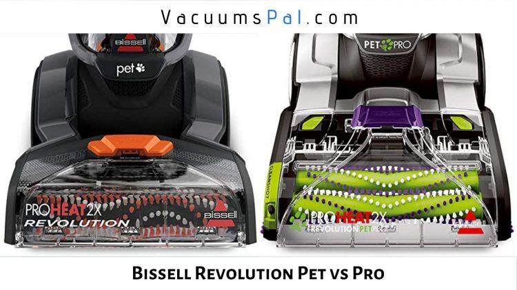 Bissell ProHeat 2x Revolution Pet Pro vs Bissell ProHeat 2x Revolution Pet