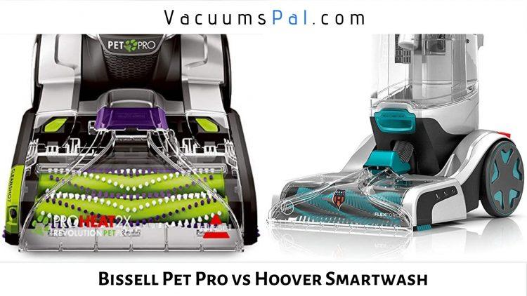 Bissell ProHeat 2x Revolution Pet Pro vs Hoover Smartwash