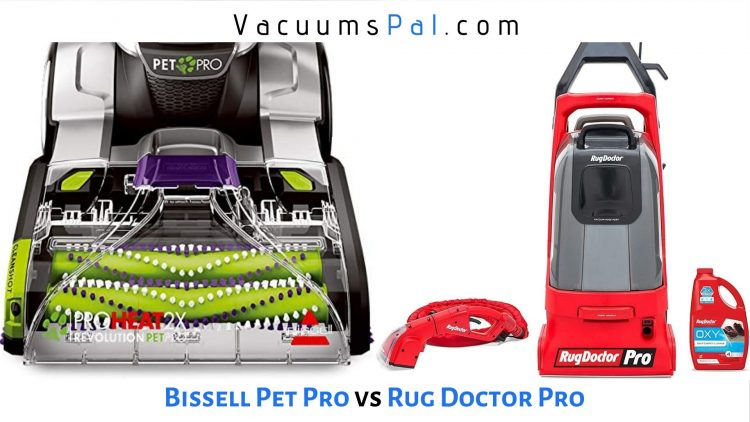 Bissell ProHeat 2x Revolution Pet Pro vs Rug Doctor Pro