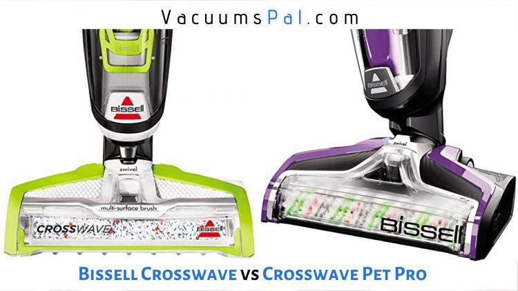 bissell crosswave pet pro vs crosswave