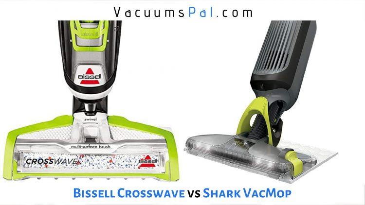 bissell crosswave vs shark vacmop