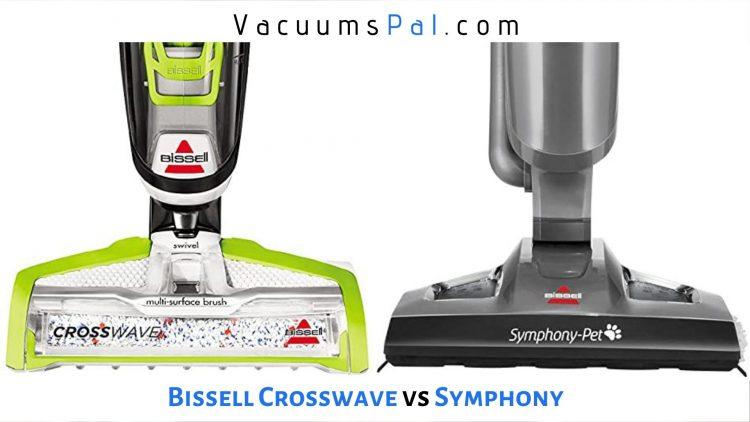 bissell crosswave vs symphony